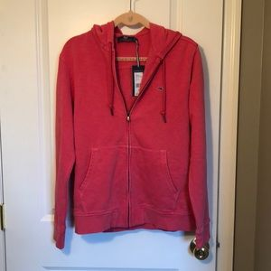 NWT Pink Vineyard Vines zip up